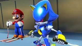 Download Mario & Sonic at the Sochi 2014 Olympic Winter Games - Racing Medley Video