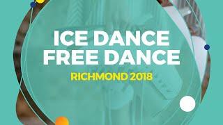 Download Konkina Ksenia / Vakhnov Alexander (RUS) | Ice Dance Free Dance | Richmond 2018 Video