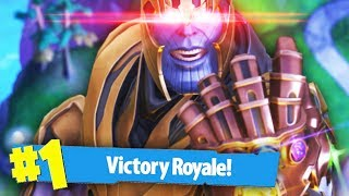 Download WINNING AS THANOS | Fortnite Battle Royale (Thanos Mode) Video