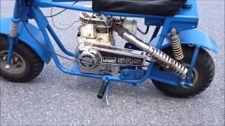 Download Vintage Mini Bike Montgomery Ward 6/30/15 Video