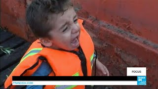 Download On board an armed smugglers' boat with Iraqi and Syrian refugees Video