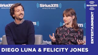 Download What Blew Felicity Jones and Diego Luna's Minds about Star Wars? // SiriusXM // Entertainment Weekly Video