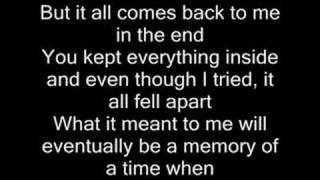 Download In the end - Linkin Park (with lyrics) Video