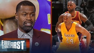 Download Stephen Jackson disagrees with Kobe calling out LeBron's leadership flaws | NBA | FIRST THINGS FIRST Video