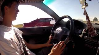Download Racing Random People in the Turbo Civic Video