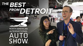 Download The Best Cars and Trucks of the 2018 Detroit Auto Show Video