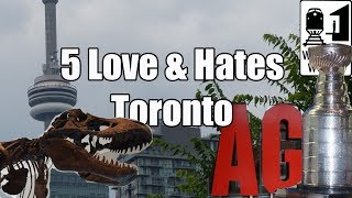 Download Visit Toronto - 5 Things You Will Love & Hate About Toronto, Canada Video