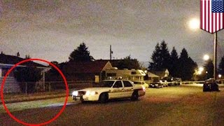Download Tacoma police shoot man in front of own home following noise complaint by neighbor - TomoNews Video