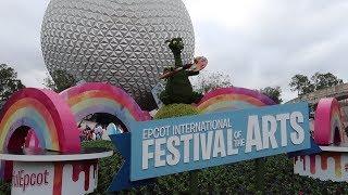 Download Disney World's International Festival Of The Arts 2018! | Food Reviews, Artist Highlights & Merch Video