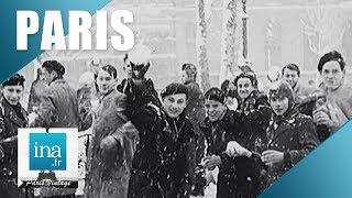 Download 1947 : Paris sous la neige | Archive INA Video