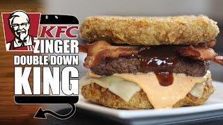 Download KFC Zinger Double Down King Recipe Remake - HellthyJunkFood Video