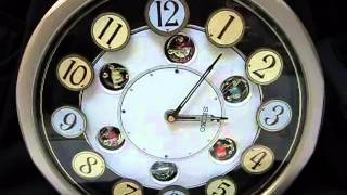 Download SEIKO ANIMATED MUSICAL WALL CLOCK Video