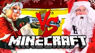 Download Minecraft | CHRISTMAS LUCKY BLOCK CHALLENGE | SANTA WITH A GUN?! Video