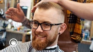 Download A Great Haircut for a High Hairline with Thin Hair Video