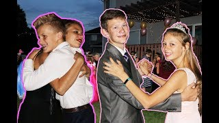Download SWEET 16 MASQUERADE BALL!! | DANCING WITH TEEN CRUSH!! ❤ Video