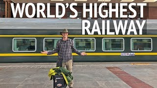 Download Train Ride to Tibet on the Worlds Highest Railway Video