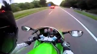 Download Tesla model s vs Kawasaki Ninja Zx9r Video