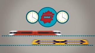 Download Animatie: hoe ProRail bereikbaarheid station Zwolle verbetert Video