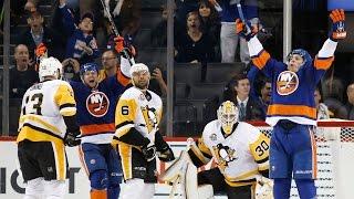 Download Watch: Islanders score two goals in three seconds Video