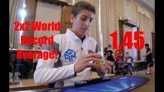 Download 2x2 Cube 1.45 WORLD RECORD Average! - Rami Sbahi Video
