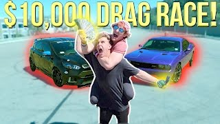 Download DRAG RACING MY BROTHER FOR $10,000! (Who Will Win?!) Video