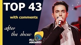 Download Eurovision 2018 | My TOP 43 after the show (with comments) lyrics EN Video