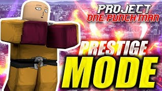 Download PRESTIGE TRANSFORMATION | Project OPM in Roblox ″One Punch Man″ | iBeMaine Video