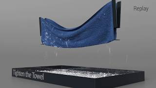 Download [SIGGRAPH 2018] A Multi-Scale Model for Simulating Liquid-Fabric Interactions Video