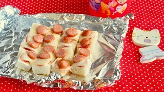 Download Quick Toddler Breakfast Toast Idea (Kind of Hot Dog) 忙しい朝に!幼児の朝食パンアイディア Video