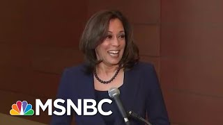Download Andrea Mitchell Asks Kamala Harris Why She's Best Suited To Beat President Trump | Hardball | MSNBC Video
