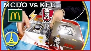 Download MCDO vs KFC (FOOD FIGHT) - GET READY SHOW #27 Video