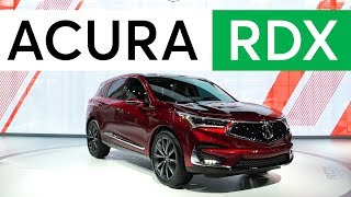 Download 2018 Detroit Auto Show: 2019 Acura RDX Gains Advanced Safety and More Power | Consumer Reports Video