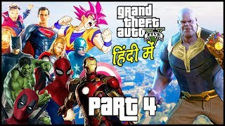 Download GTA 5 - Avengers: Infinity War - Part 4 - Superheros Vs Thanos | Hitesh KS Video