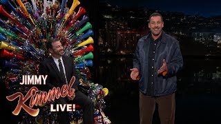 Download Adam Sandler Surprises Jimmy Kimmel on His 50th Birthday Video