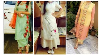Latest Embroidery Punjabi Suit Designs Embroidery For Punjabi Suits