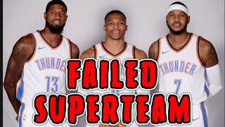 Download How The 2018 Oklahoma City Thunder Became The WORST SUPERTEAM In NBA History Video
