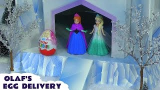 Download Kinder Surprise Eggs delivered by Disney Frozen Elsa and Anna and Olaf Video