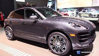 Download 2017 Porsche Macan Turbo Exclusive Manifaktur -Exterior Interior Walkaround -2017 New York Auto Show Video