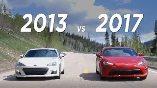 Download 2017 86 vs 2013 BRZ - What you need to know | Everyday Driver Video