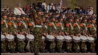 Download Gran Parada Militar 1995 (12) Encajonamiento Gran Banda del Ejercito Video