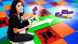 Download NERF Don't Pick The Wrong Path Challenge! Video