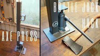 Download Bottle Jack Hack - Axe Wedge Press Video
