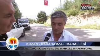 Download Büyükşehir Haber Kozan Karahamzalı Mahallesi Asfalt ve Su Deposu Çalışması Video