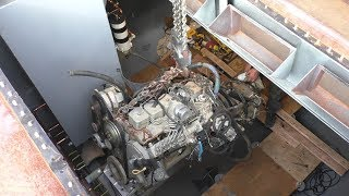 Download Building an Engine Room Video