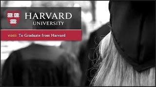 Download To Graduate From Harvard Video