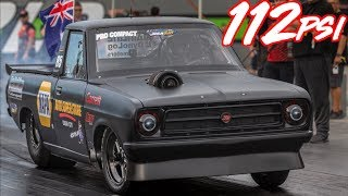 Download 4G63 on 112psi of BOOST - Fastest 4 Cylinder in the World! Video