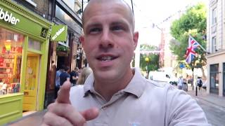 Download Covent Garden Seven Dials Pub + Pizza Summer in London Video
