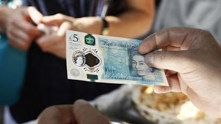 Download UK's 5-pound notes contain animal fat Video