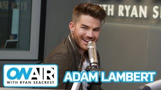 Download Adam Lambert Talks Dating, Nicki Minaj and Harry Styles | On Air with Ryan Seacrest Video