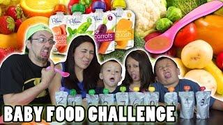 Download BABY FOOD CHALLENGE!! Fruits & Vegetables ... Meat Barf! | FUNnel Vision Video